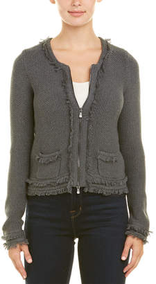 Autumn Cashmere Cotton By Fringe Jacket