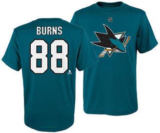 Outerstuff Brent Burns San Jose Sharks Player T-Shirt, Big Boys (8-20)