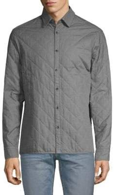 HUGO BOSS Quilted Cotton Top