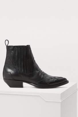 Roseanna Tucson leather boots