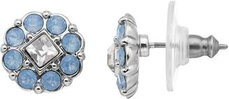 Dana Buchman Crystal Flower Stud Earrings