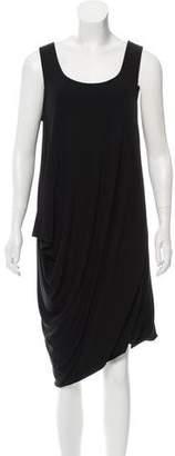 DKNY Draped Midi Dress