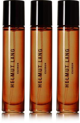 Helmut Lang - Cuiron Eau De Cologne - Italian Bergamot, Italian Mandarin Oil & Pink Peppercorn, 3 X 10ml $105 thestylecure.com