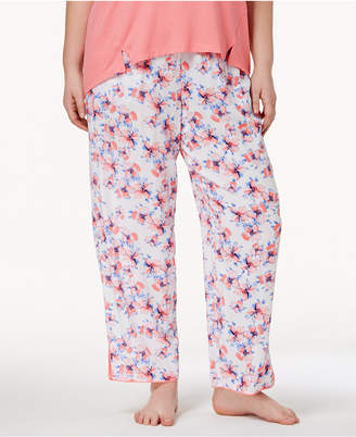 Alfani Plus Size Woven Printed Pajama Pants, Created for Macy's