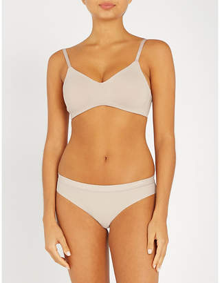 Calvin Klein Form stretch-jersey unlined triangle bra