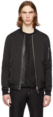 Mackage Black Ragnor Bomber Jacket