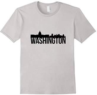 Washington DC T Shirt Landmark Skyline Design