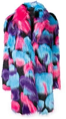 Frankie Morello faux fur coat