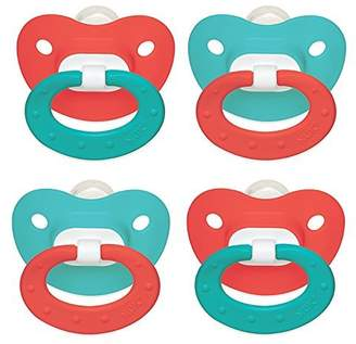 NUK Kiddie World Puller Silicone Pacifier, 2 Pack, 6-18 Months