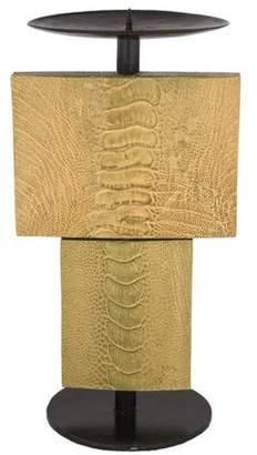 R & Y Augousti R&Y Augousti Ostrich Leg Candle Holder