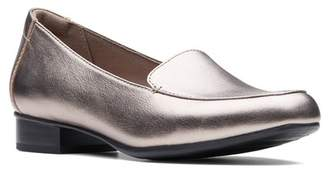 Clarks Juliet Lora Leather Loafter - Multiple Widths Available