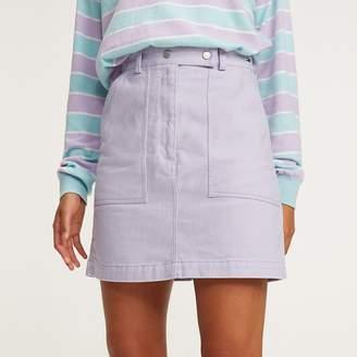 e726618de Tommy Hilfiger A-Line Pure Cotton Mini Skirt