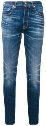 Golden Goose faded straight leg jeans