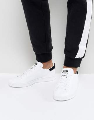 adidas Stan Smith Primeknit Sneakers In White Bz0117