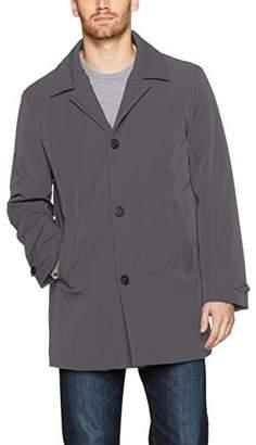Calvin Klein Men's Melliot Shirt Collar Rain Coat
