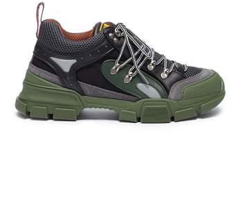 Gucci 'Flashtrek' patchwork sneakers