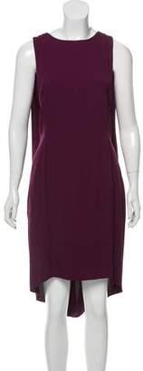 Narciso Rodriguez Sleeveless Cape Dress