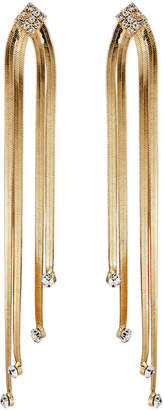 Romeo & Juliet Couture Crystal Snake-Chain Earrings