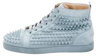 Christian Louboutin Louis Flat Spikes Sneakers