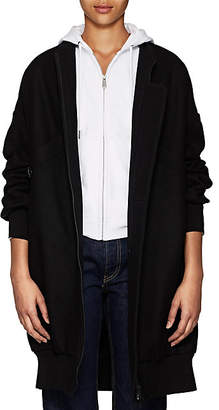 Yohji Yamamoto Regulation Women's Wool Melton Bomber Coat - Black