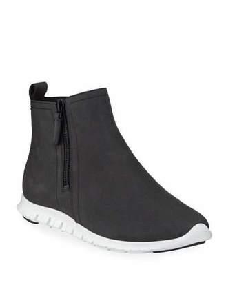 Cole Haan Zerogrand Waterproof Zip Booties, Black