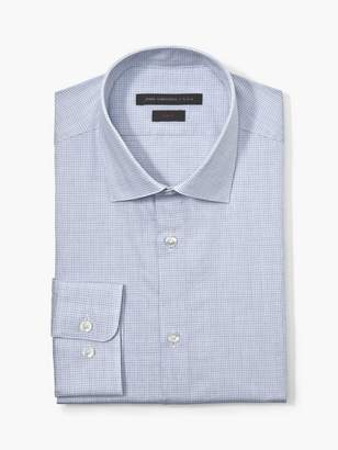 John Varvatos Slim Fit Micro Check