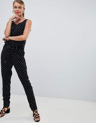 Only Lisa polka dot Jumpsuit