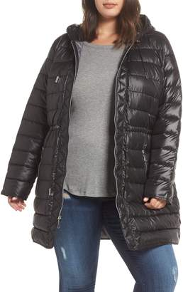 Kenneth Cole New York Packable Quilted Parka