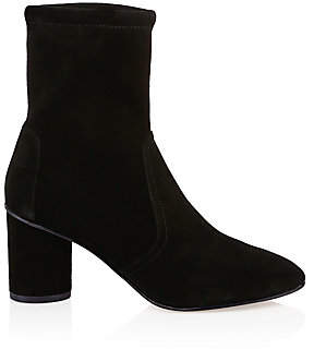 Stuart Weitzman Women's Margot Suede Booties