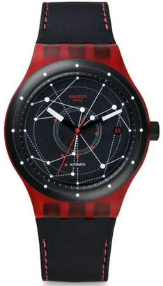 Swatch SISTEM RED Unisex Watch SUTR400