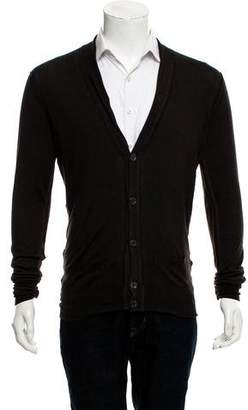 Saint Laurent Distressed Cardigan