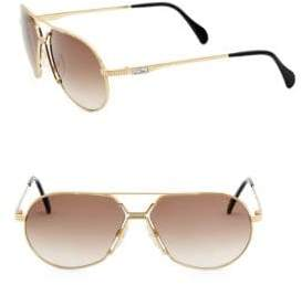 Cazal 62MM Aviator Sunglasses