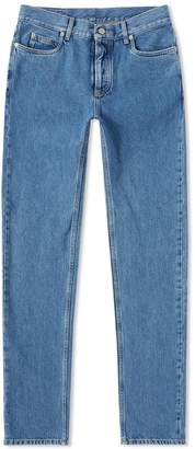 Maison Margiela Slim Cut Out Pocket Jean