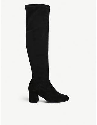Carvela Comfort Volt suede over-the-knee boots