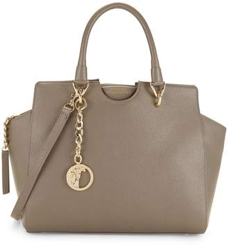 Versace Classic Leather Satchel