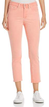 NYDJ Sheri Slim Frayed Ankle Jeans in Pale Desert Flower - 100% Exclusive