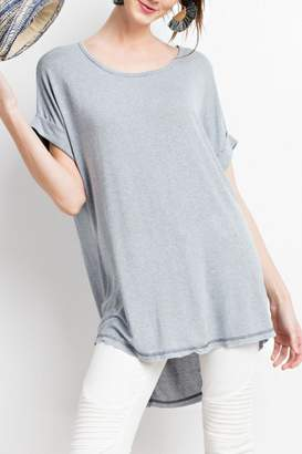Easel Soft Tunic Top