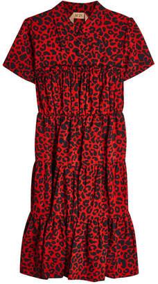 N°21 N21 Leopard Print Silk Dress