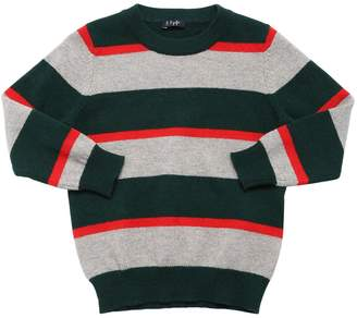 Il Gufo Stripes Wool Knit Sweater