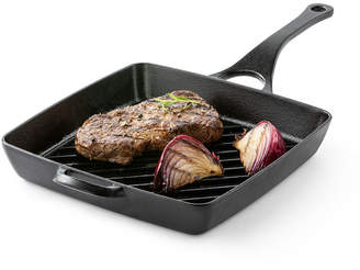 Cooks Signature 10 Preseasoned Cast Iron Grill Pan