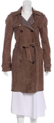 Gucci Shearling Trench Coat