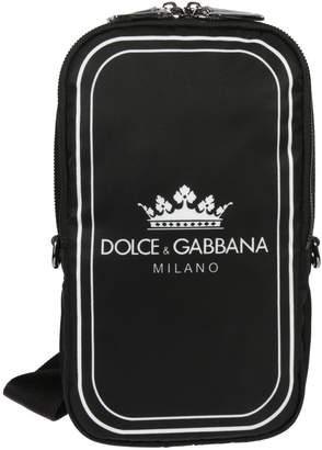 Dolce & Gabbana Logo Shoulder Bag