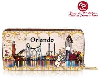 OH FASHION OH Fashion Women Coin & cash Purse Handbag Amaizing Orlando PU Leather with zipper Fashion Diamonds Shoe Hills Style