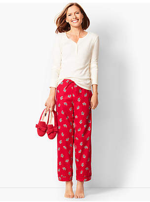 Talbots Pajama Set - Scotty-Dog Flannel
