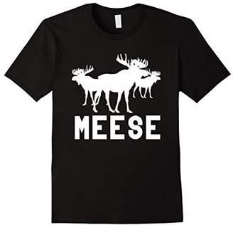 Meese Antlers Love Funny Moose T-Shirt