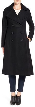 French Connection Long Wool Blend Coat $300 thestylecure.com