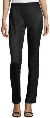 Philosophy Faux-Suede Legging Trouser, Black $65 thestylecure.com