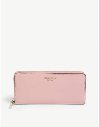 Kate Spade Sylvia leather continental wallet