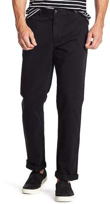 """Black Brown 1826 Henry Classic Fit Chino Pants - 30-34\"""" Inseam"""
