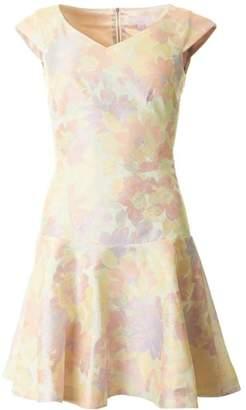 Ted Baker Floral Flippy Jaquard Dress